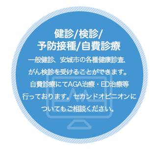 健診/検診/予防接種